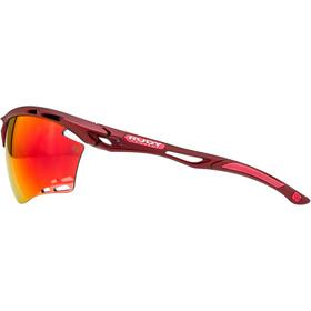 Rudy Project Propulse Okulary, czerwony